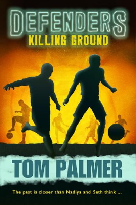 Defenders cover showing two silhouettes playing football