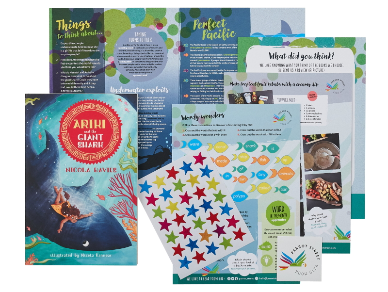 Ariki and the Giant Shark book and activity pack