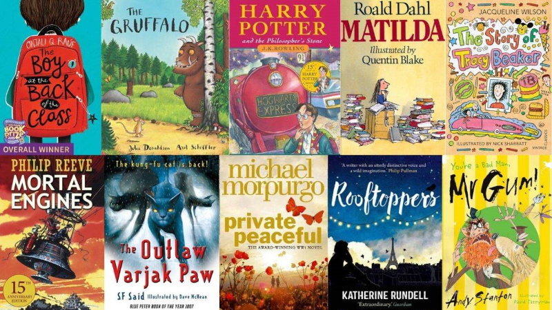 Blue Peter Book Award covers