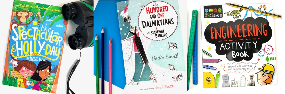 The Spectacular Holly-Day, The Hundred and One Dalmations and Engineering Activity Book