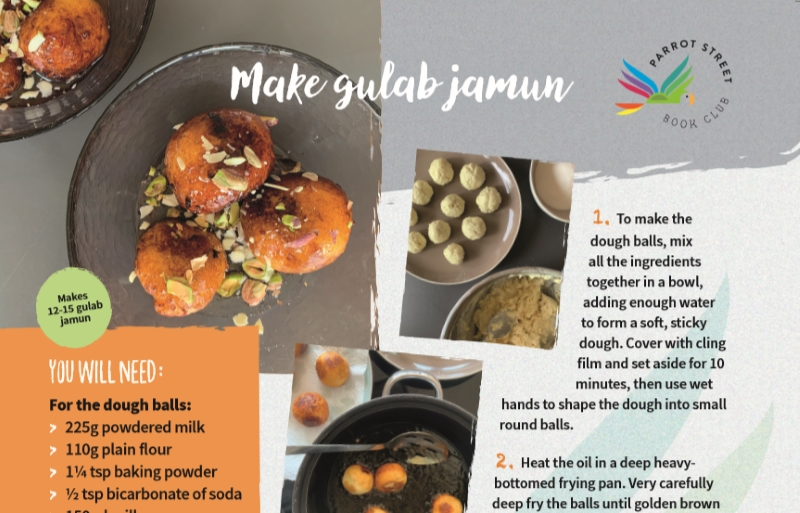 Recipe to make gulab jamun