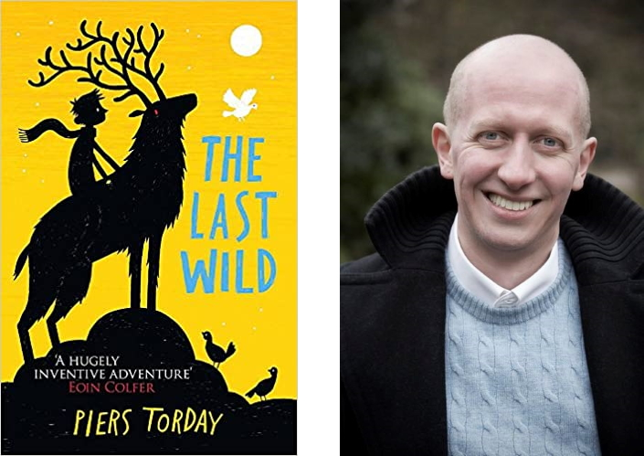 The Last Wild cover and photo of Piers Torday