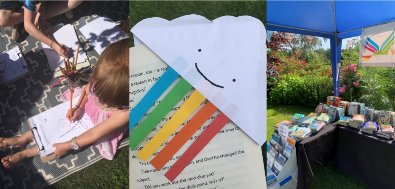 Kids activities and books at Wealden Literary Festival
